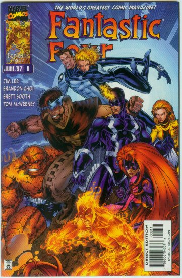 FANTASTIC FOUR #8 (1997)