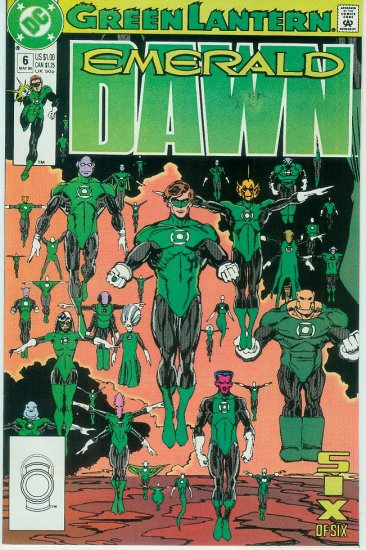 GREEN LANTERN EMERALD DAWN #6 of 6 (1990)