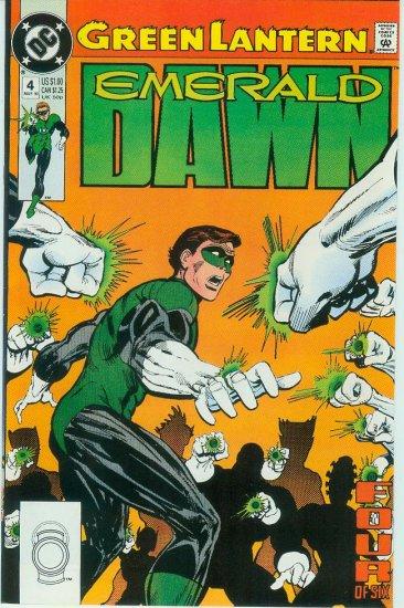 GREEN LANTERN EMERALD DAWN #4 of 6 (1990)