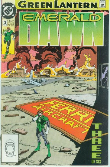 GREEN LANTERN EMERALD DAWN #3 of 6 (1990)
