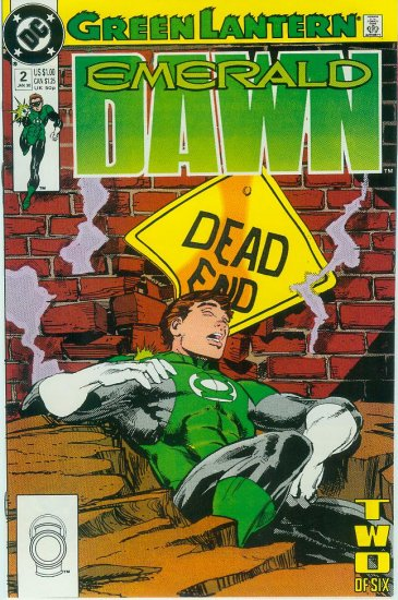 GREEN LANTERN EMERALD DAWN #2 of 6 (1990)