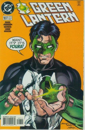 GREEN LANTERN #107 (1998)