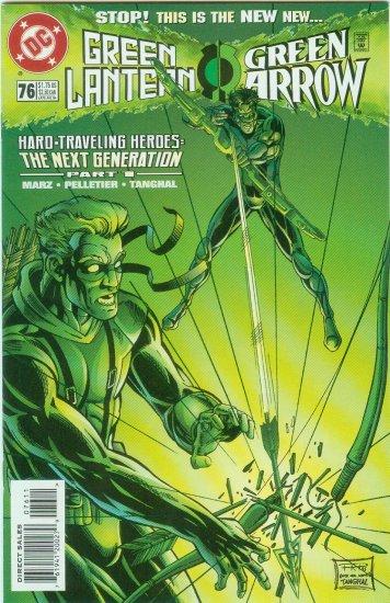 GREEN LANTERN/GREEN ARROW #76 (1996)