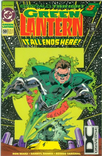 GREEN LANTERN #50 (1994) GLOW IN DARK COVER