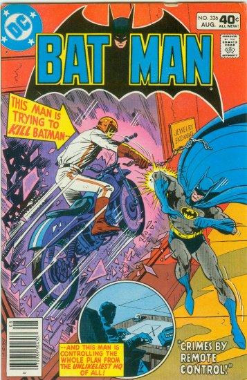 BATMAN #326 (1980)