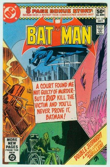 BATMAN #328 (1980)