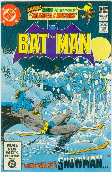 BATMAN #337 (1981)