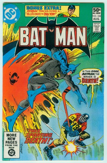 BATMAN #338 (1981)