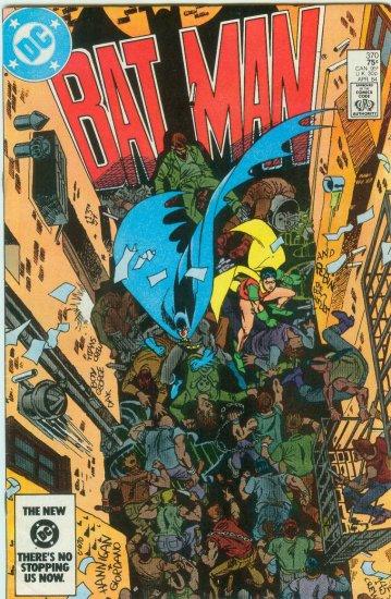 BATMAN #370 (1984)