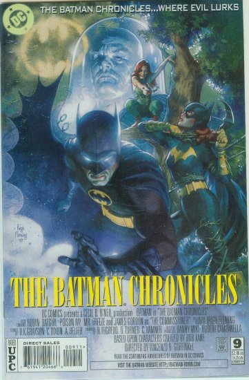 BATMAN CHRONICLES #9 (1997)