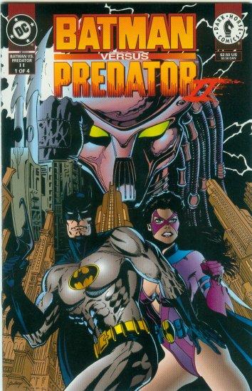 BATMAN VERSUS PREDATOR II;BLOODMATCH #1 OF 4 (1994)