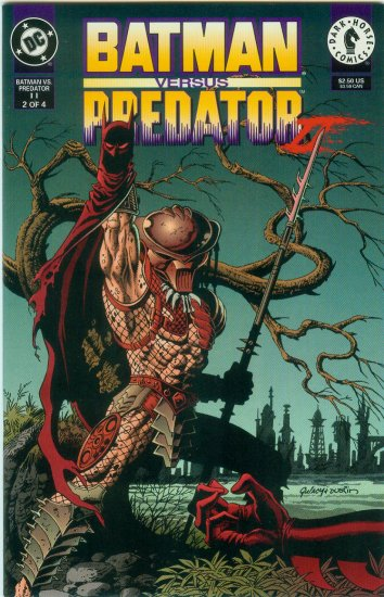 BATMAN VERSUS PREDATOR II;BLOODMATCH #2 OF 4 (1994)