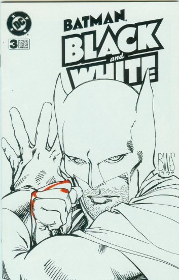 BATMAN BLACK AND WHITE #3 OF 4 (1996)