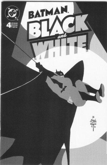 BATMAN BLACK AND WHITE #4 OF 4 (1996)