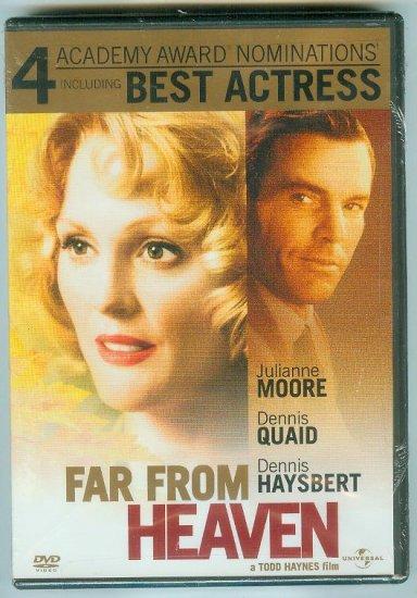 FAR FROM HEAVEN (2003) (NEW) JULIANNE MOORE/DENNIS QUAID