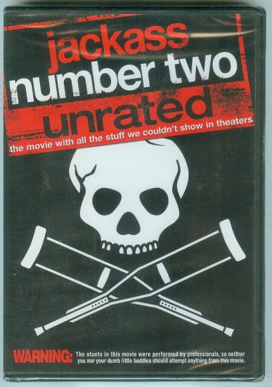 JACKASS NUMBER TWO UNRATED (2006) (NEW)
