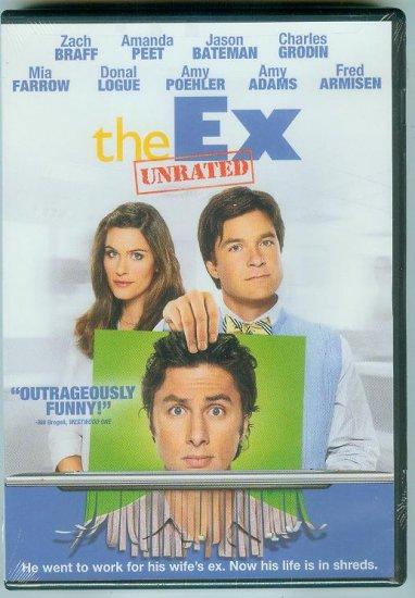THE EX (2007) (NEW) JASON BATEMAN, ZACH BRAFF, AMANDA PEET