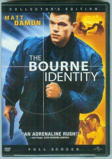 THE BOURNE IDENTITY (2003) (PLAYED ONCE) MATT DAMON