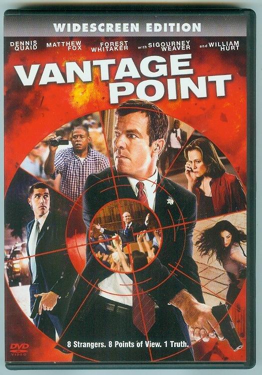VANTAGE POINT (2008) (PLAYED ONCE) DENNIS QUAID/FOREST WHITAKER,MATTHEW FOX