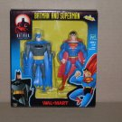 BATMAN & SUPERMAN TWO PACK WAL-MART EXCLUSIVE (2000) NIP
