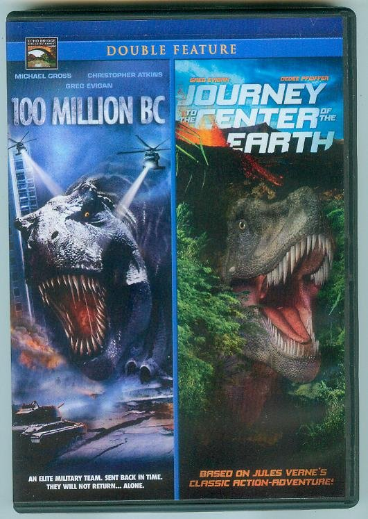 JOURNEY TO THE CENTER OF THE EARTH/100 MILLION BC DOUBLE FEATURE (2010)Viewed Once