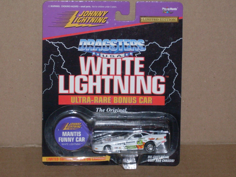 Johnny Lightning White Lightning Dragster Ultra Rare Bonus Car (1996)