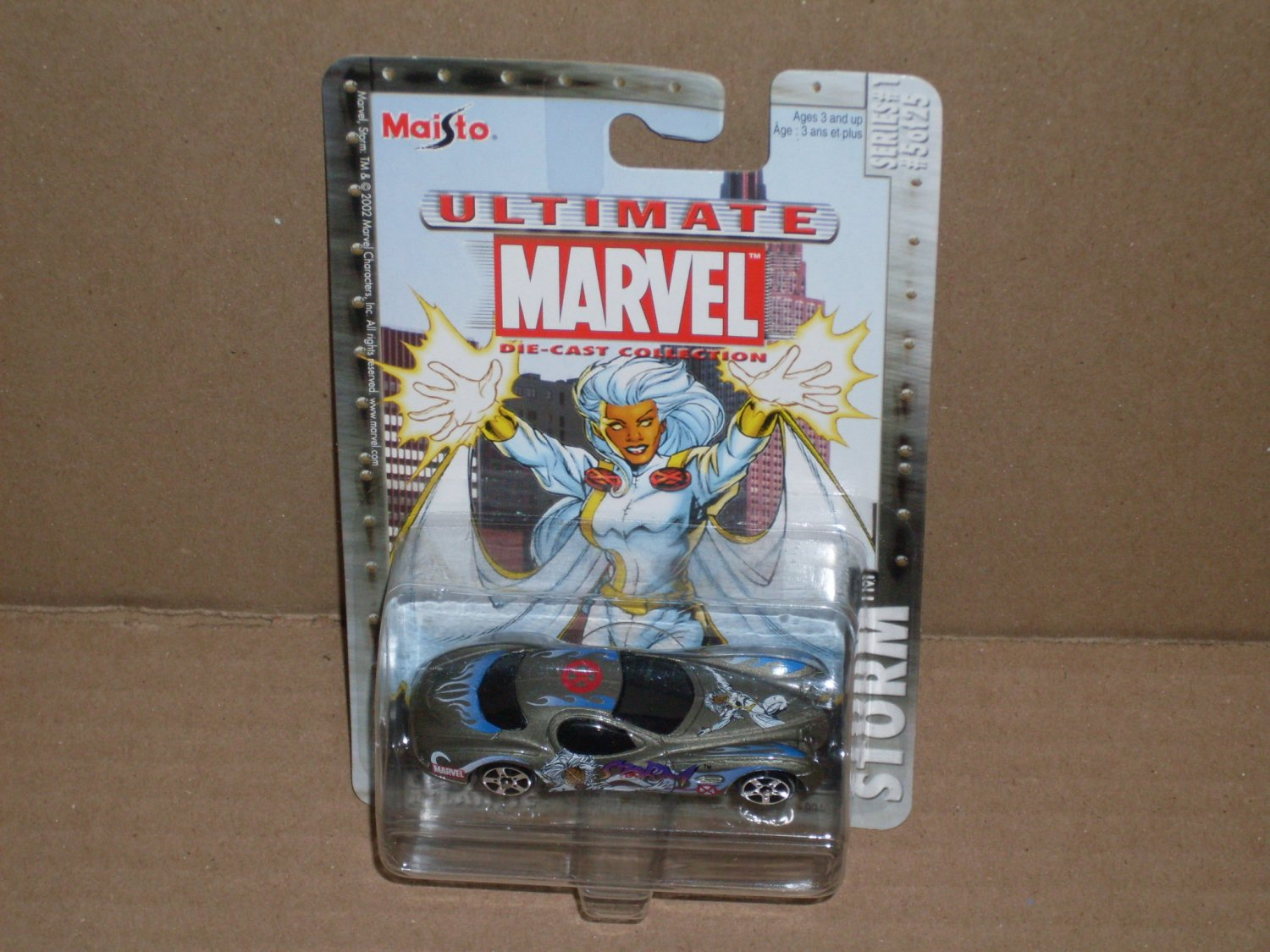 Maisto X-Mens Storm Ultimate Marvel Die Cast Collection (2002)