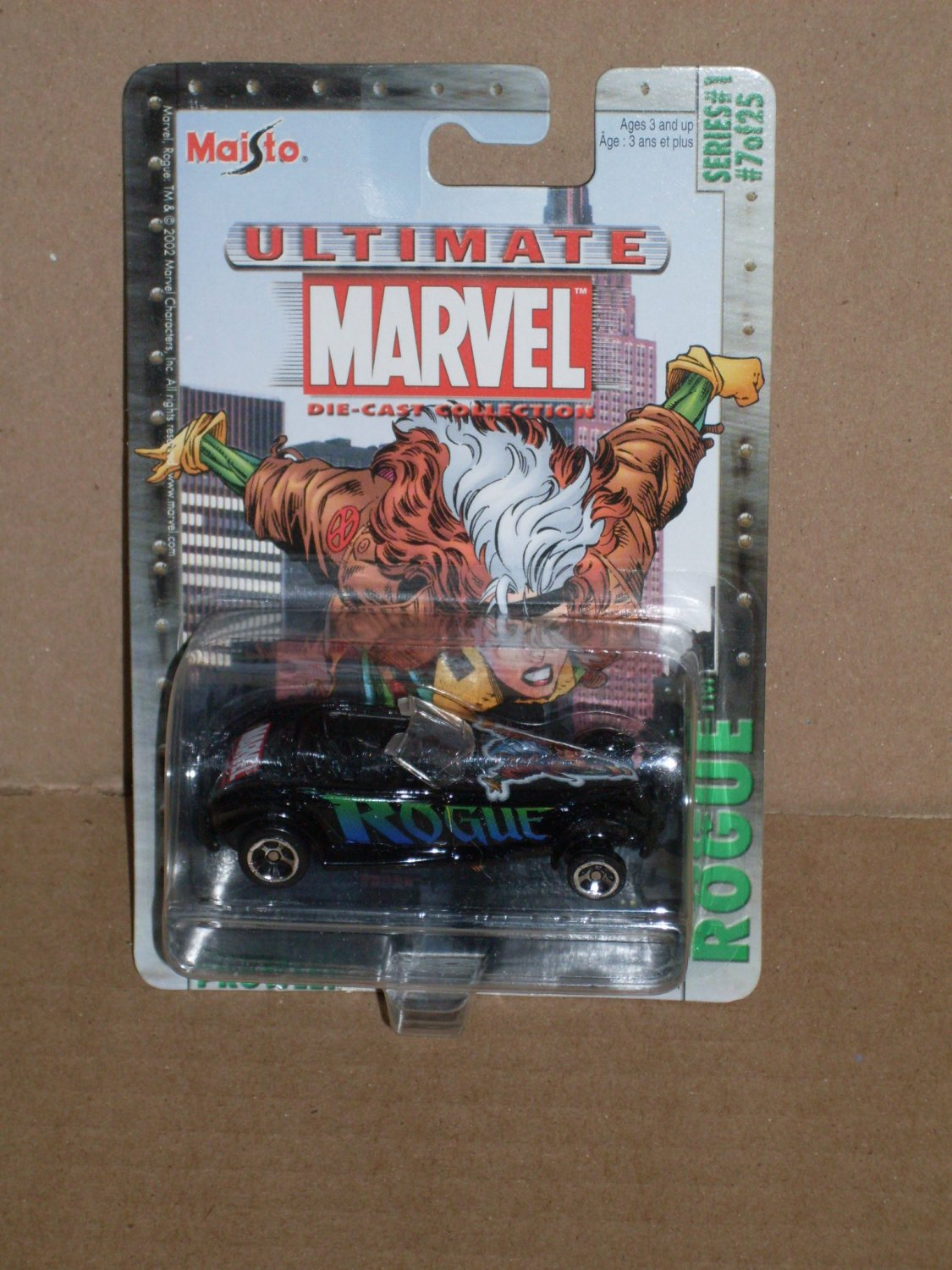 Maisto X-Mens Rogue Ultimate Marvel Die Cast Collection (2002)