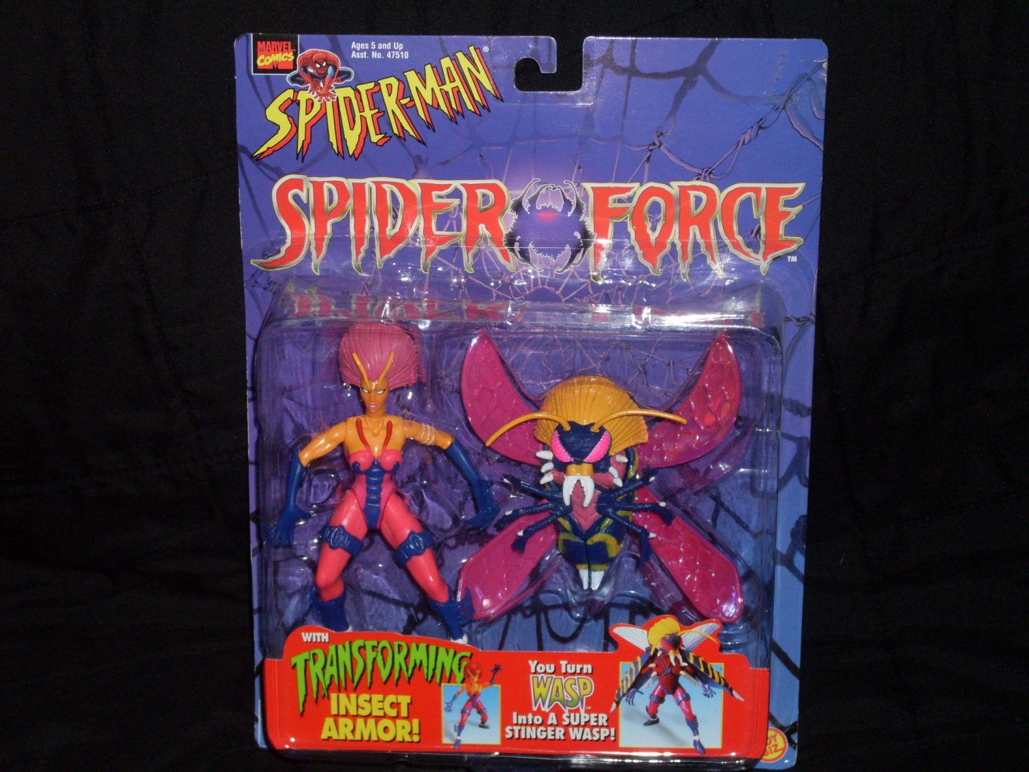 WASP FROM SPIDER-MAN SPIDER-FORCE (1996) Added Shipping Cost Outside USA