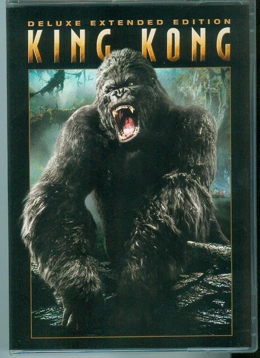 KING KONG 3-DISC (2006) (VIEWED ONCE) JACK BLACK/NAOMI WATTS/ADRIEN BRODY
