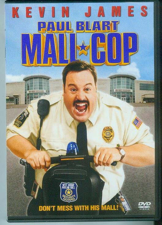 PAUL BLART MALL COP (2009) (PLAYED ONCE) KEVIN JAMES
