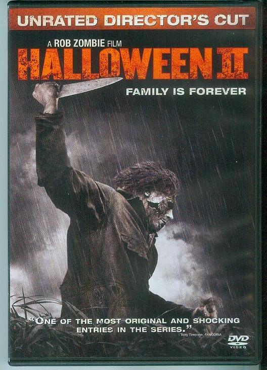 HALLOWEEN II (2009) (NEVER PLAYED) ROB ZOMBIE FILM