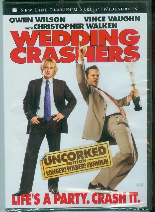 WEDDING CRASHERS (2006) (NEW) OWEN WILSON/VINCE VAUGHN