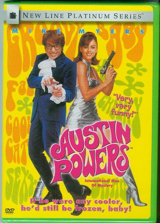 AUSTIN POWERS INTERNATIONAL MAN OF MISTERY (1997) (NEW) MIKE MYERS/ELIZABETH HURLEY