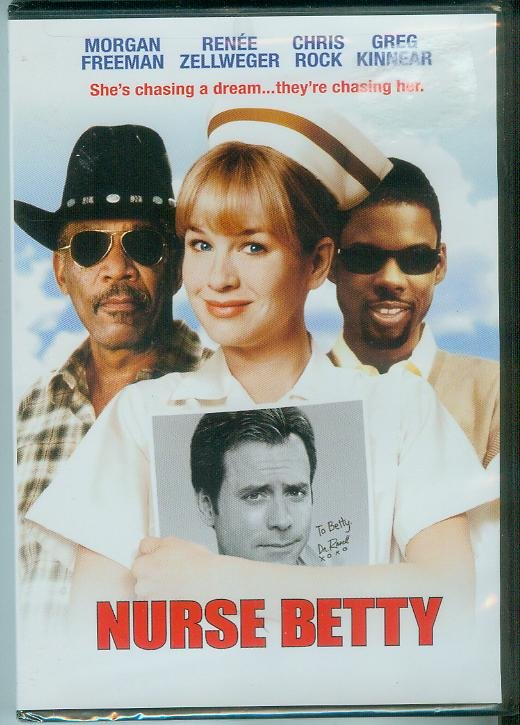 NURSE BETTY (2003) (NEW) MORGAN FREEMAN/RENEE ZELLWEGER/CHRIS ROCK