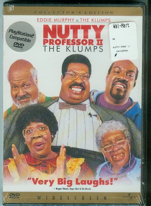 NUTTY PROFESSOR II THE KLUMPS (2000) (NEW) EDDIE MURPHY