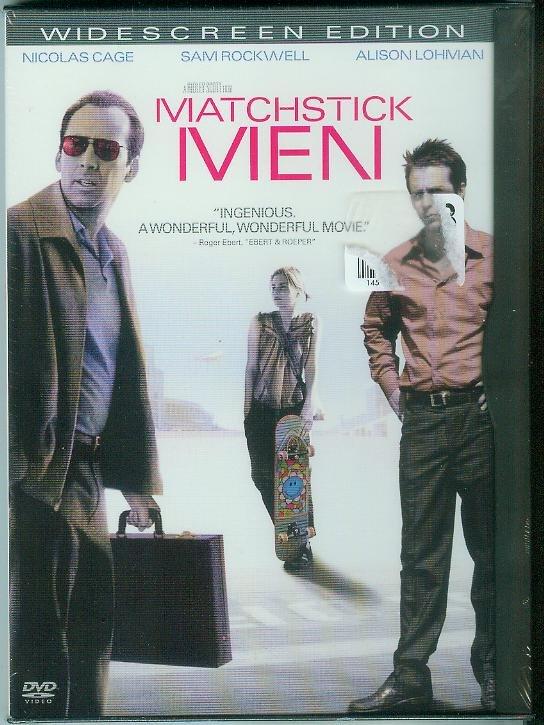 MATCHSTICK MEN (2003) (NEW) NICOLAS CAGE