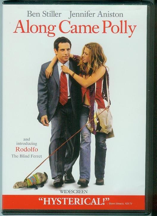 ALONG CAME POLLY (2004) (NEVER PLAYED) BEN STILLER/JENNIFER ANISTON