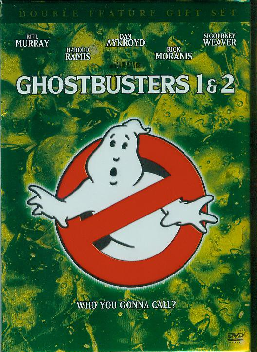 Ghostbusters/Ghostbusters 1 & 2 (DVD, 2005, 2-Disc Set, with Collectible Scrapbook) (NEVER PLAYED)