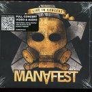 Live in Concert [CD & DVD] by Manafest (CD, Jun-2011, 2 Discs, CMJ)