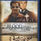 BLOOD DONE SIGN MY NAME (Blu ray 2010)