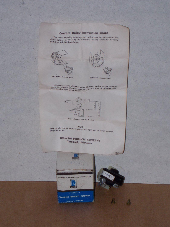 Tecumseh Current Relay Wiring Diagram Aea4440yxa Compressor Crayonboxco Model 82773 Includes Instructions