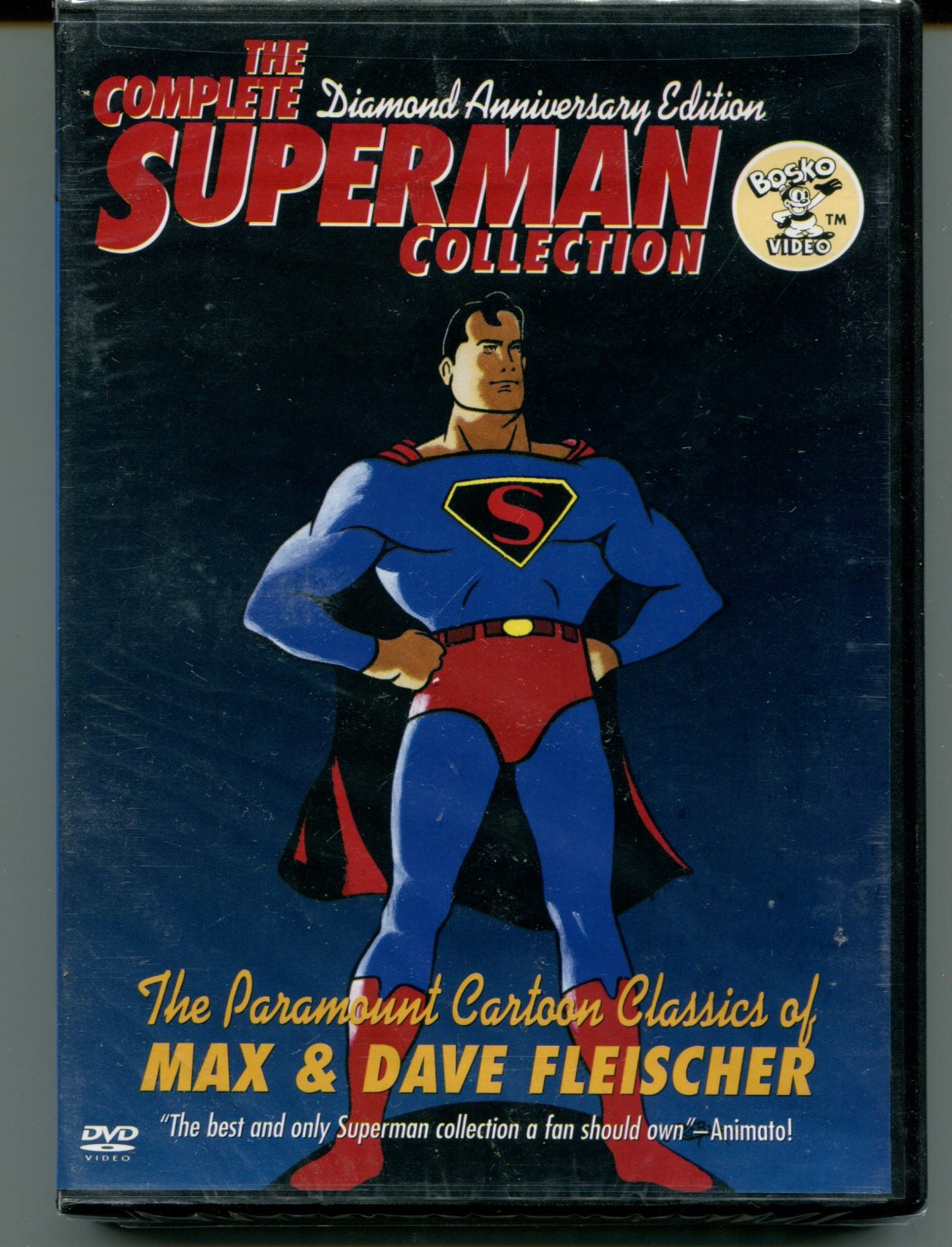 The Complete Superman Collection - Diamond Anniversary Edition (DVD, 2000)