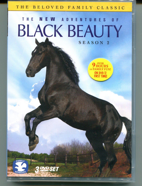 THE NEW ADVENTURES OF BLACK BEAUTY: SEASON 2 (DVD 2010)