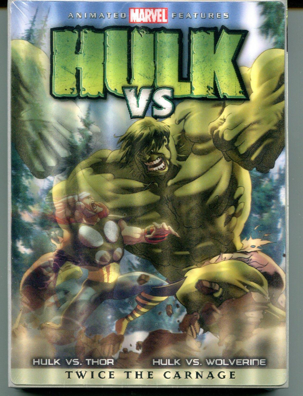 Hulk Vs (Hulk Vs Thor / Hulk Vs Wolverine) (DVD 2009)
