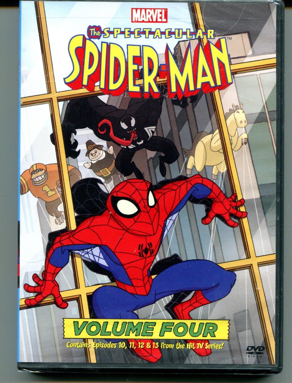 The Spectacular Spider-Man: Vol. 4 (DVD, 2009)