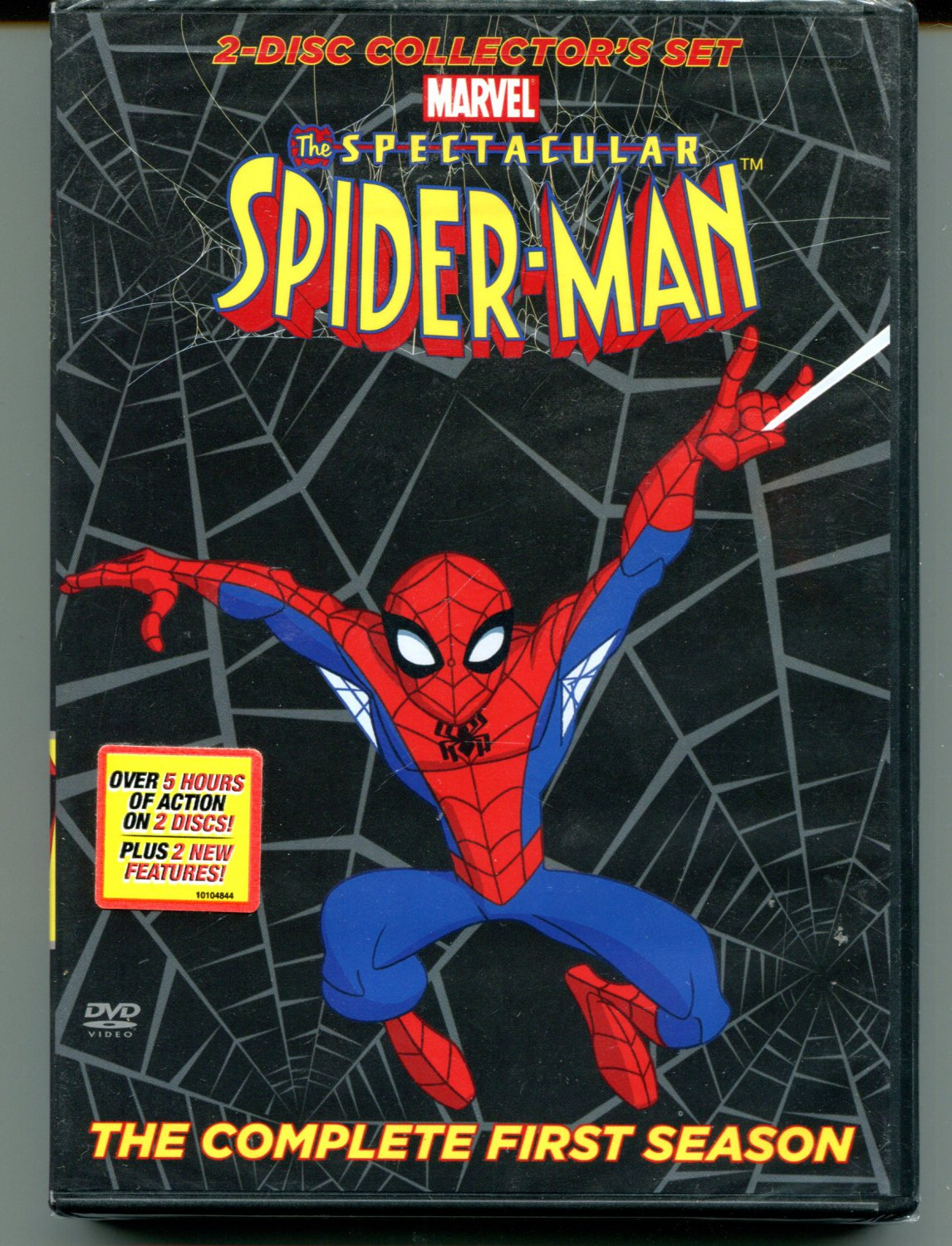 The Spectacular Spider-Man: Season 1 (2 disc collector's set 2009)