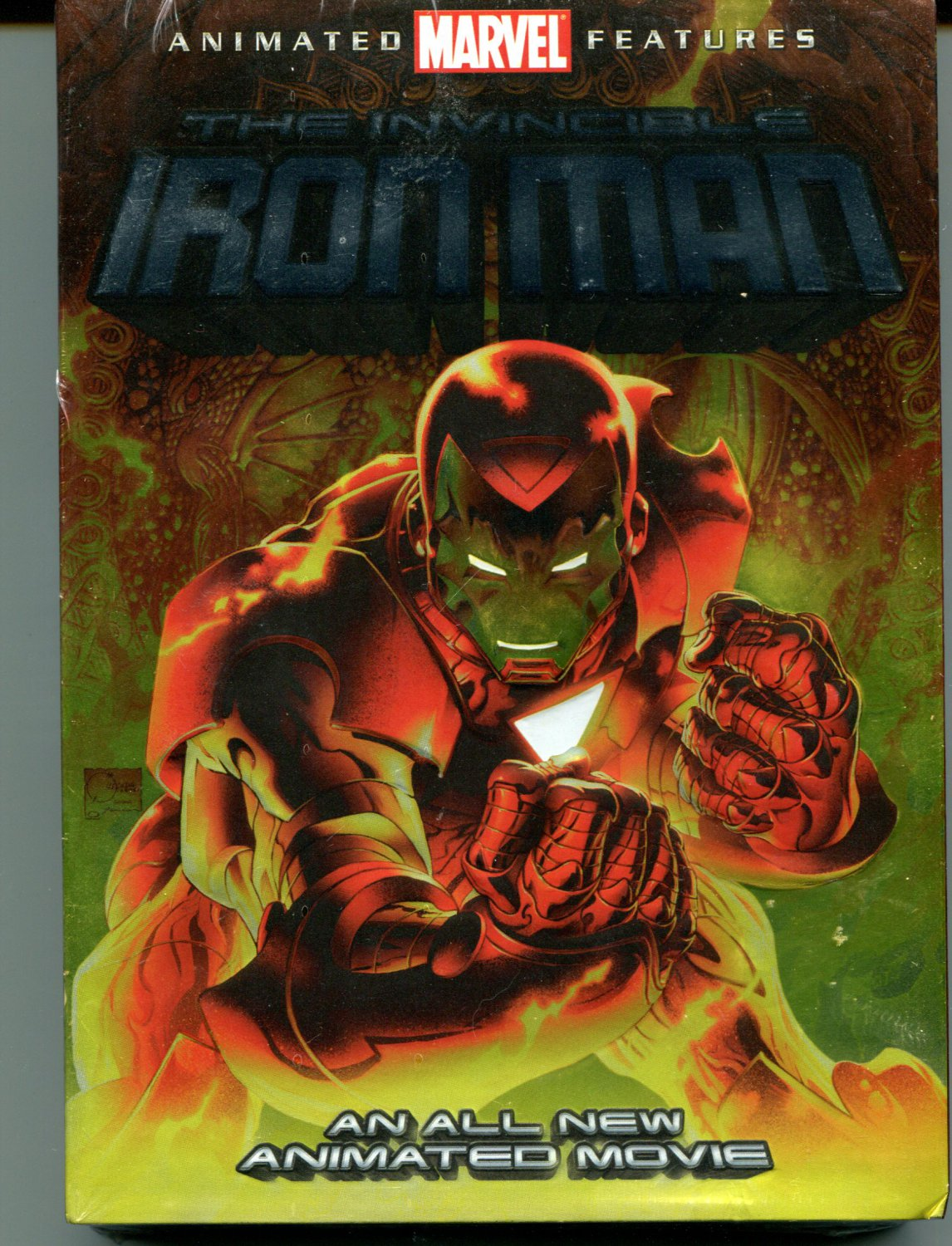 INVINCIBLE IRON MAN [CANADIAN] NEW DVD 2007