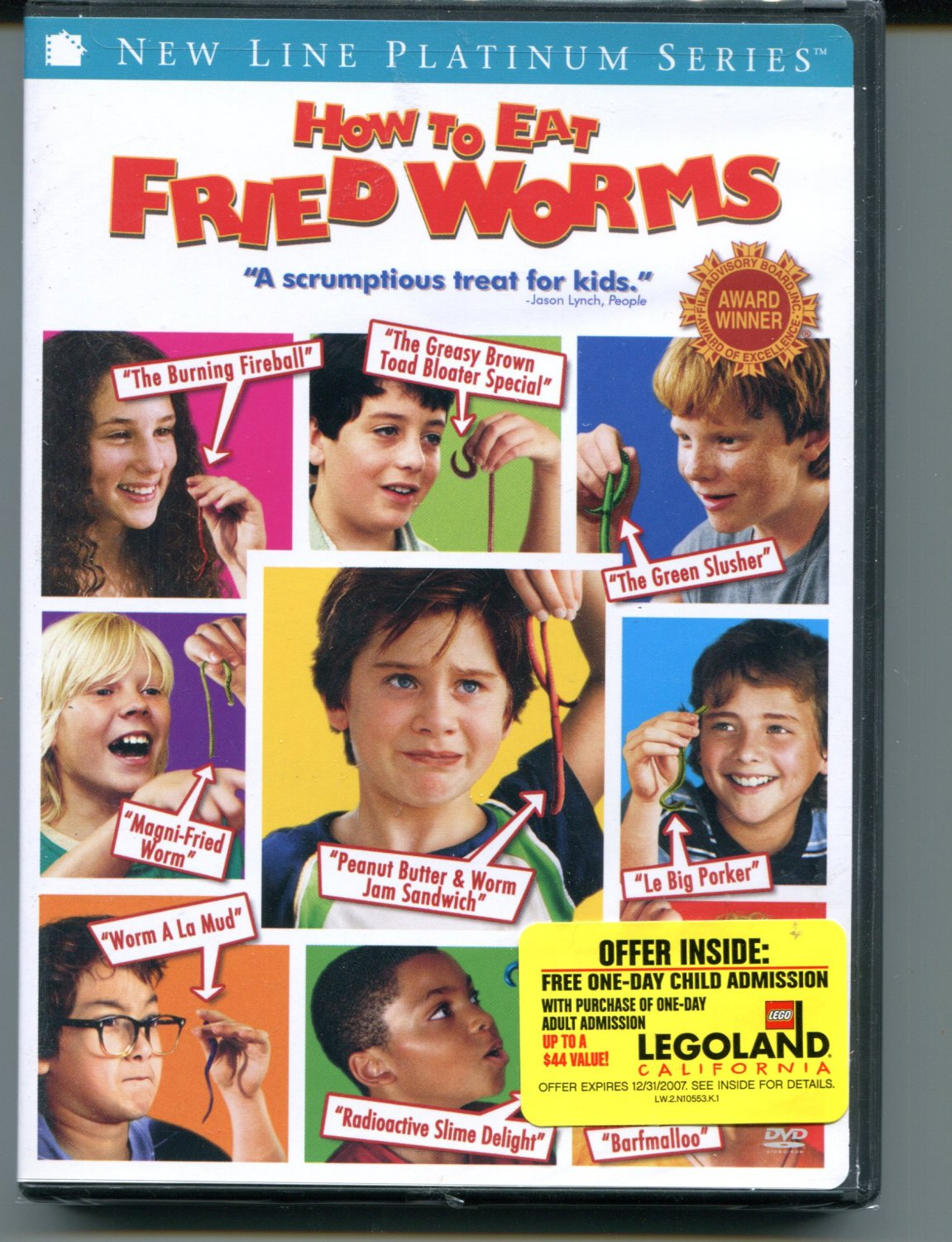 How to Eat Fried Worms (DVD, 2006)