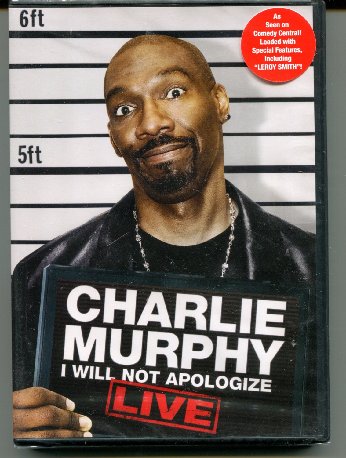 CHARLIE MURPHY I WILL NOT APOLOGIZE LIVE (2009)
